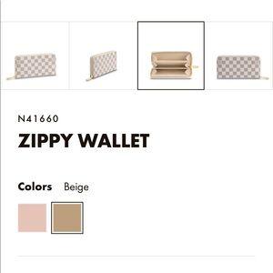 Bags - LOUIS VUITTON Damier Azur wallet